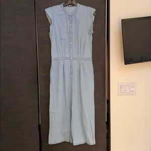 Joie button down chambray dress NWT
